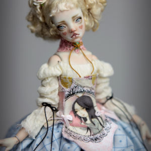 BJD Doll Ball Jointed Kawaii Victorian Cupcakes Dress Outfits4 300x300 Fine Art Couture