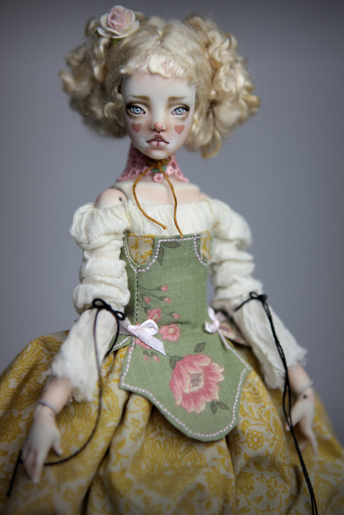 BJD Doll Ball Jointed Kawaii Victorian Cupcakes Dress Outfits42 Victorian Cupcake Outfit #2