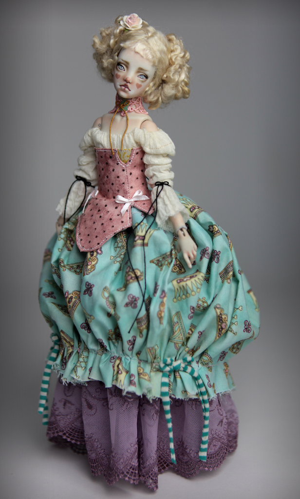 BJD Doll Ball Jointed Kawaii Victorian Cupcakes Dress Outfits46 Victorian Cupcake Menina Dresses and Dolls