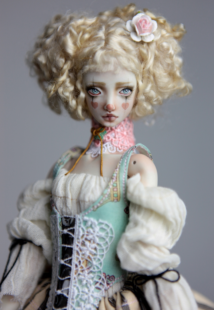 BJD Doll Ball Jointed Kawaii Victorian Cupcakes Dress Outfits97 2 15 Nude Astra Doll