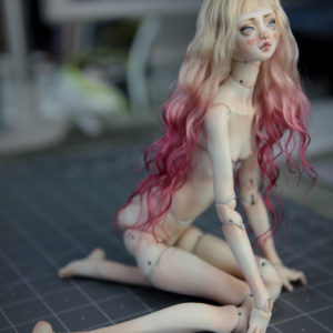 Nude BJD Doll Ball Jointed Kawaii Forgotten Hearts FHDolls Wigs 21 300x300 New Flora Fae BJD Doll Collection by FHDolls