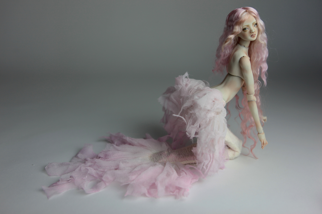 Porcelain BJD Dolls Mermaid Tails
