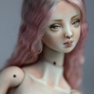 Cotton Candy Mermaid BJD Doll Ball Jointed Forgotten Hearts FHDolls Rose Gold Wig 13 300x300 Forgotten Hearts BJD Sold Dolls Gallery