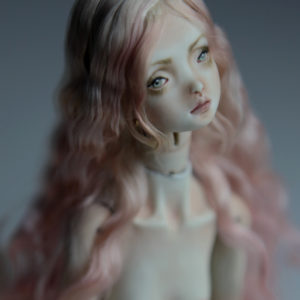 Cotton Candy Mermaid BJD Doll Ball Jointed Forgotten Hearts FHDolls Rose Gold Wig 3 2 300x300 Forgotten Hearts BJD Sold Dolls Gallery