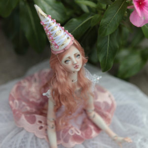BJD Doll Ball Jointed Forgotten Hearts Party Hats Clown Hats FHDolls 28 300x300 Accesories and Hats