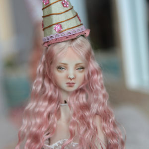 BJD Doll Ball Jointed Forgotten Hearts Party Hats Clown Hats FHDolls 40 300x300 Accesories and Hats
