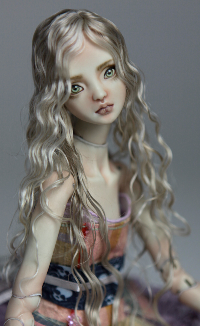 BJD Doll Sphinx Ball Jointed Forgotten Hearts FHDolls 32 Porcelain BJD Dolls | Forgotten Hearts Dolls