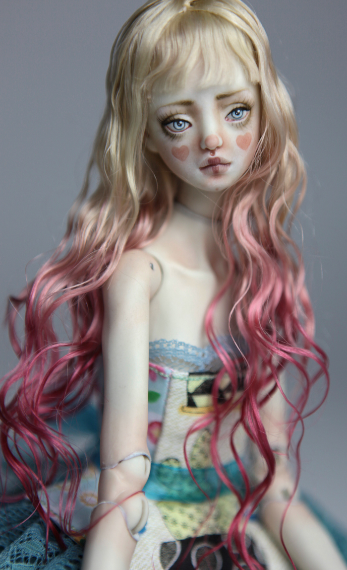 BJD Doll Sphinx Ball Jointed Forgotten Hearts FHDolls 43 Porcelain BJD Dolls | Forgotten Hearts Dolls