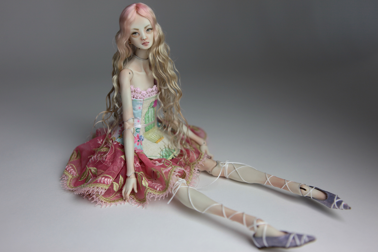 BJD Doll Sphinx Ball Jointed Forgotten Hearts FHDolls 50 Cactus Princess Cut Dress #7