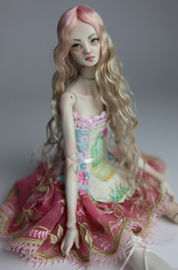 BJD Doll Sphinx Ball Jointed Forgotten Hearts FHDolls 51 Cactus Princess Cut Dress #7