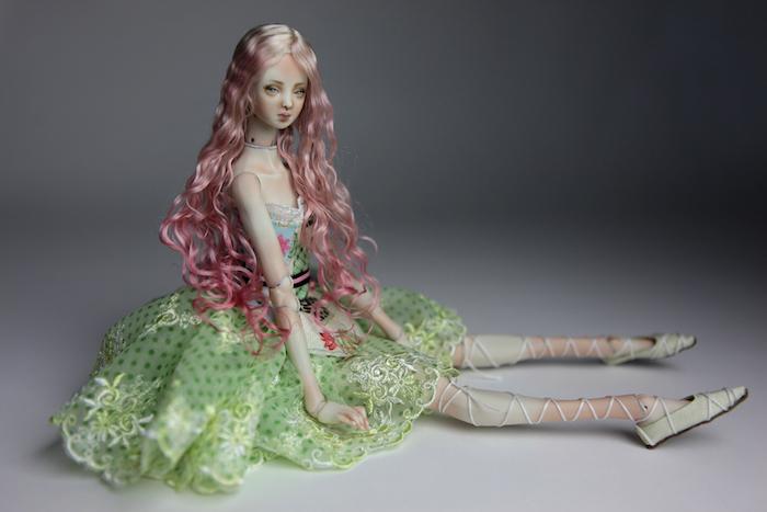 BJD Doll Sphinx Ball Jointed Forgotten Hearts FHDolls 62 Cactus Princess Cut Dress #2