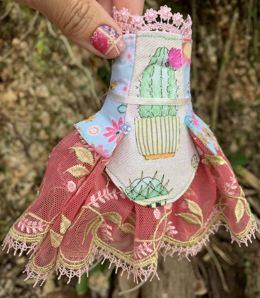 %name Cactus Princess Cut Dress #7
