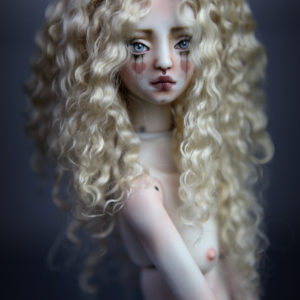 CGM Curly Girl Method Wigs BJD Doll Ball Jointed Forgotten Hearts Party Hats Clown Hats FHDolls 28 3 300x300 Wigs