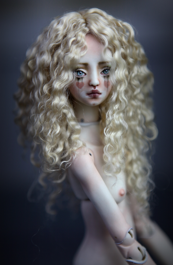 CGM Curly Girl Method Wigs BJD Doll Ball Jointed Forgotten Hearts Party Hats Clown Hats FHDolls 28 3 Premium Angora Mohair Wig #11