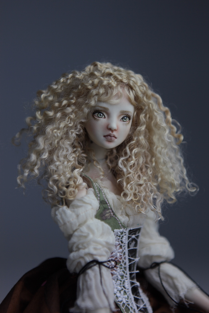 CGM Curly Girl Method Wigs BJD Doll Ball Jointed Forgotten Hearts Party Hats Clown Hats FHDolls 35 Premium Angora Mohair Wig #5