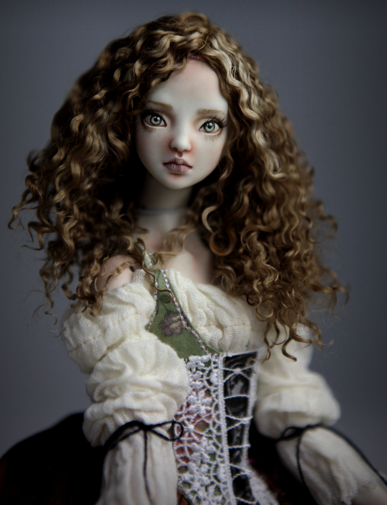 CGM Curly Girl Method Wigs BJD Doll Ball Jointed Forgotten Hearts Party Hats Clown Hats FHDolls 37 Premium Angora Mohair Wig #7
