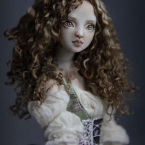 CGM Curly Girl Method Wigs BJD Doll Ball Jointed Forgotten Hearts Party Hats Clown Hats FHDolls 38 300x300 Wigs