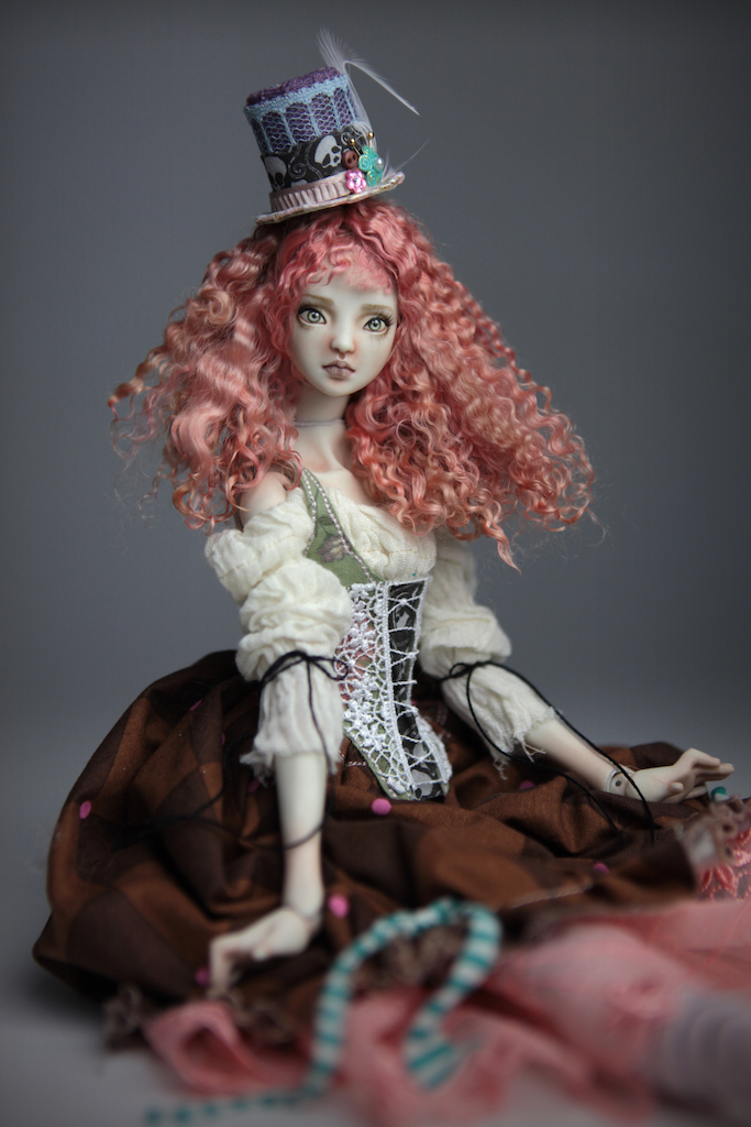 CGM Curly Girl Method Wigs BJD Doll Ball Jointed Forgotten Hearts Party Hats Clown Hats FHDolls 39 1 Porcelain BJD Dolls | Forgotten Hearts Dolls