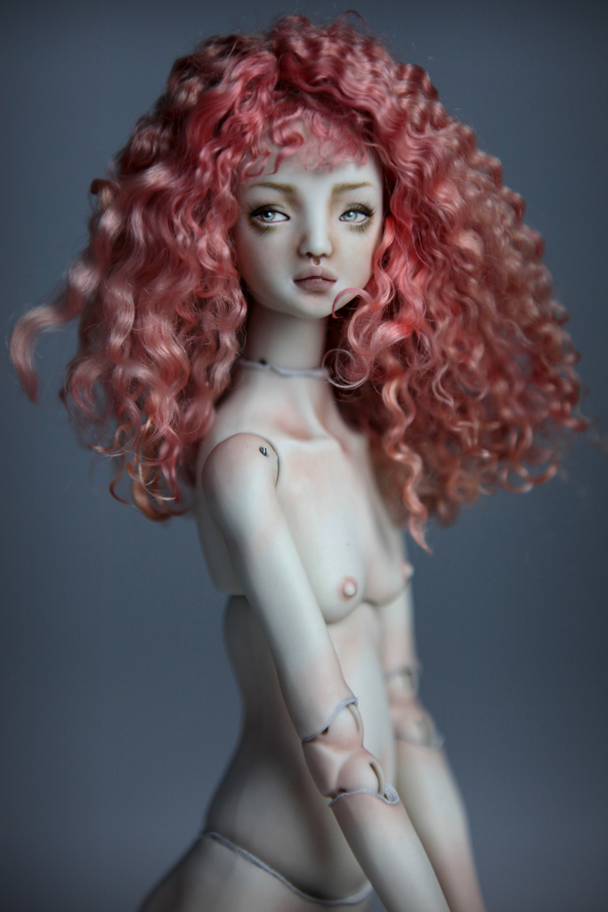 CGM Curly Girl Method Wigs BJD Doll Ball Jointed Forgotten Hearts Party Hats Clown Hats FHDolls 59 1 Porcelain BJD Dolls | Forgotten Hearts Dolls