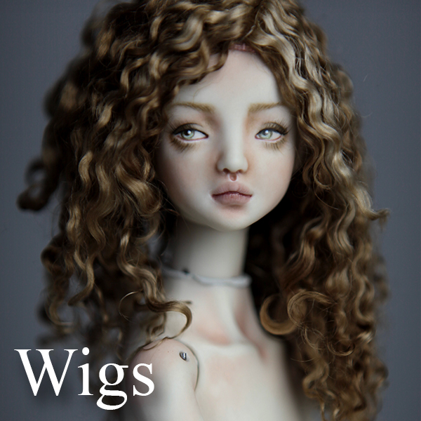 Wigs Porcelain BJD Dolls | Forgotten Hearts Dolls