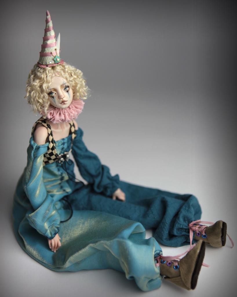 Clown Harlequin BJD Doll Ball Jointed Forgotten Hearts Party Hats Clown Hats FHDolls 29 15 Clown Harlequin Renaissance