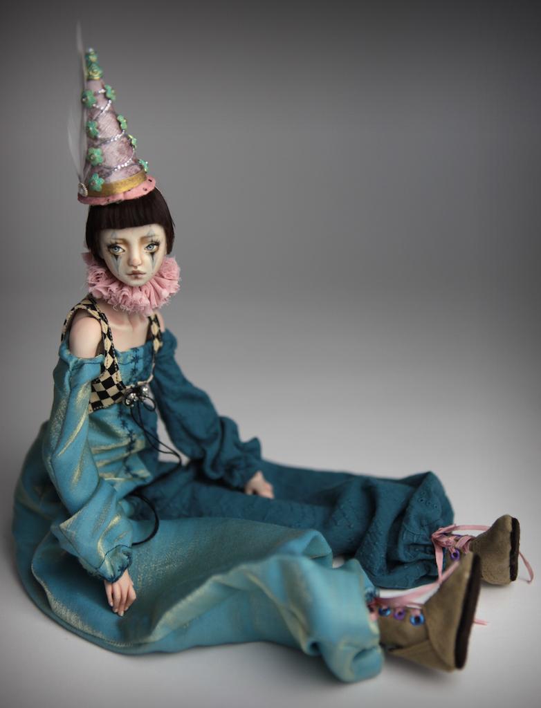 Clown Harlequin BJD Doll Ball Jointed Forgotten Hearts Party Hats Clown Hats FHDolls 31 15 Clown Harlequin Renaissance