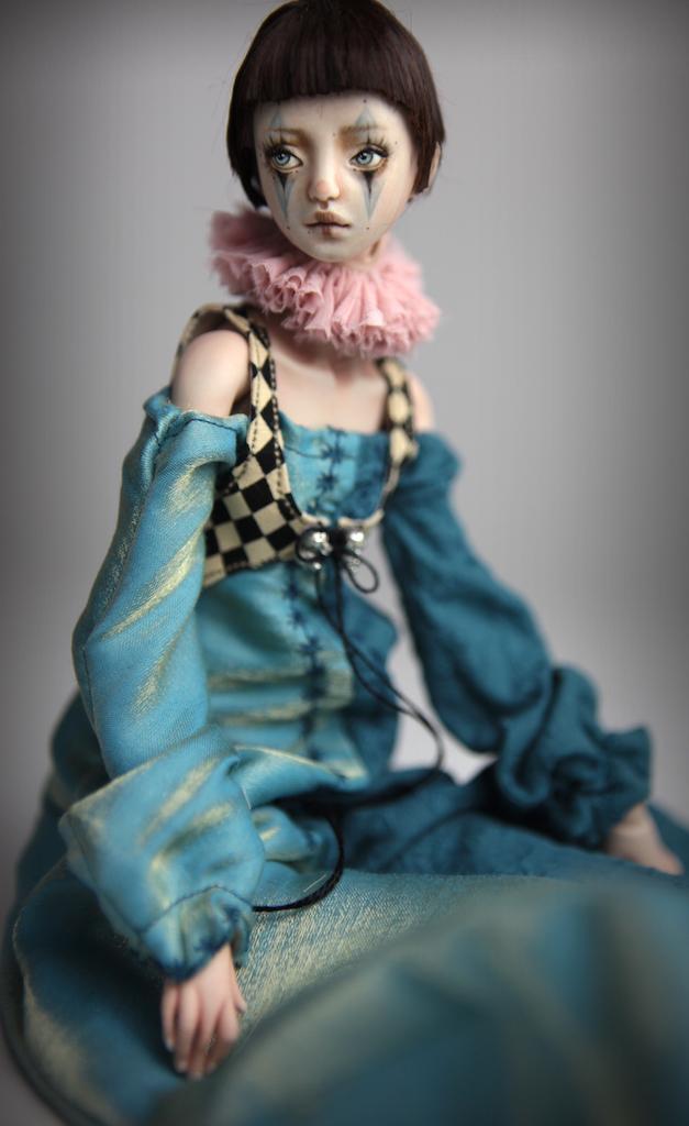 Clown Harlequin BJD Doll Ball Jointed Forgotten Hearts Party Hats Clown Hats FHDolls 34 15 Clown Harlequin Renaissance