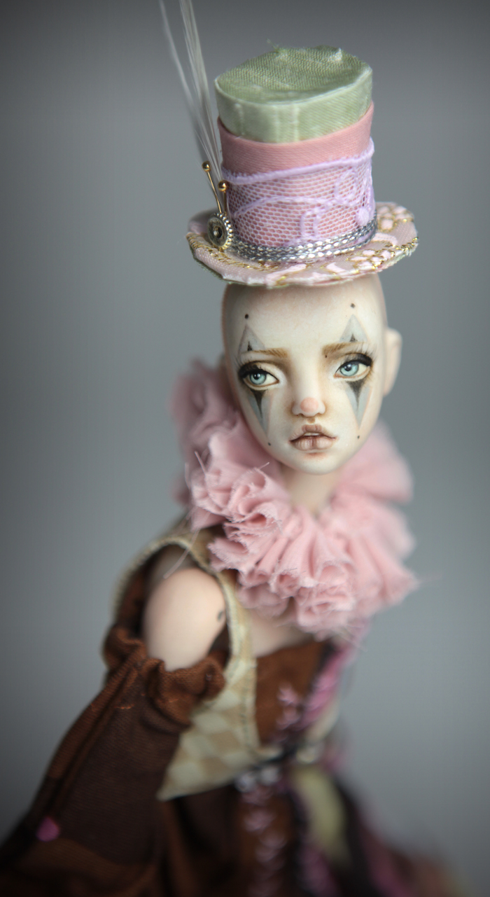 Clown Harlequin BJD Doll Ball Jointed Forgotten Hearts Party Hats Clown Hats FHDolls 46 15 Clown Harlequin Alice